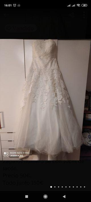 Vestido novia T38 W1