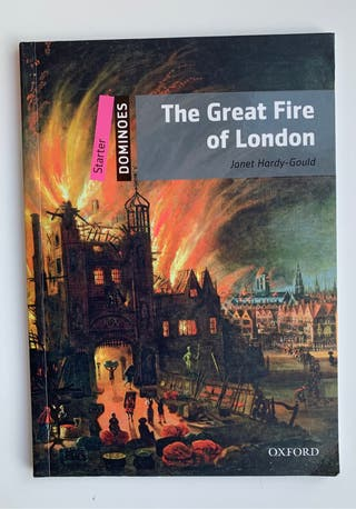 The Great Fire of Lobdon libro inglés Oxford