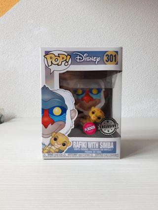 Funko Pop Disney (Rafiki with Simba)