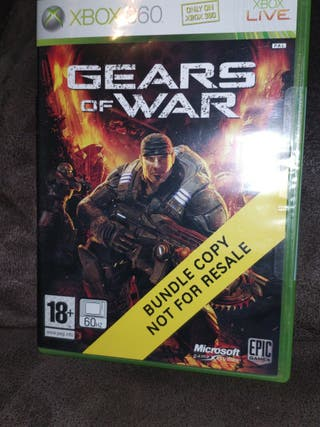 JUEGO XBOX 360,GEARS OF WAR,