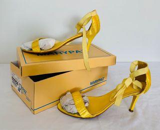 Sandalia tacón raso