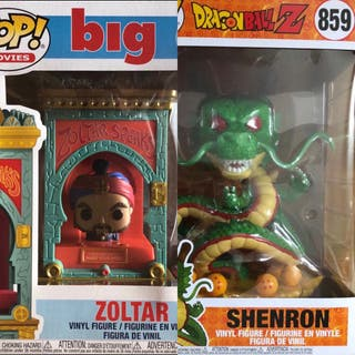 Pack Funko Big y Dragon Ball
