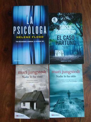 Pack novela negra /thriller (4 libros)