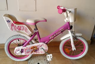 bicicleta paw patroll