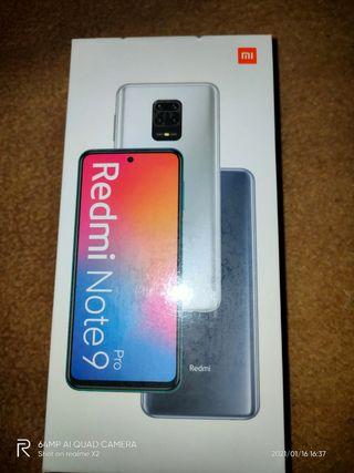 Xiaomi redmi note 9 pro 6gb ram y 128gb rom