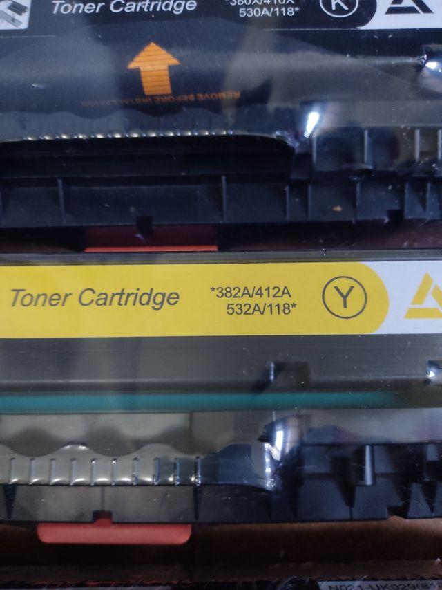 Cartuchos impresora HP Pack 4