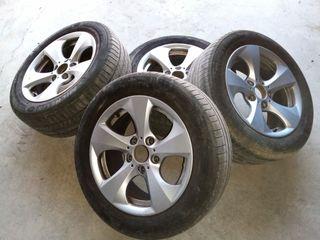 """Llantas BMW 16"""" con neumáticos"""