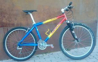 bicicleta mtb clasica kenium racing