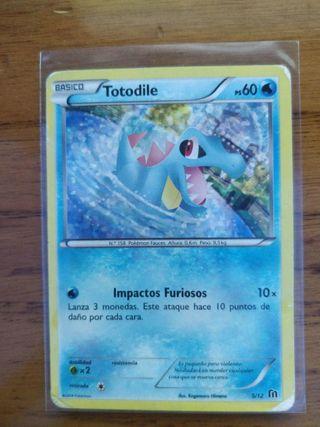 Carta Pokémon Totodile McDonalds 2014