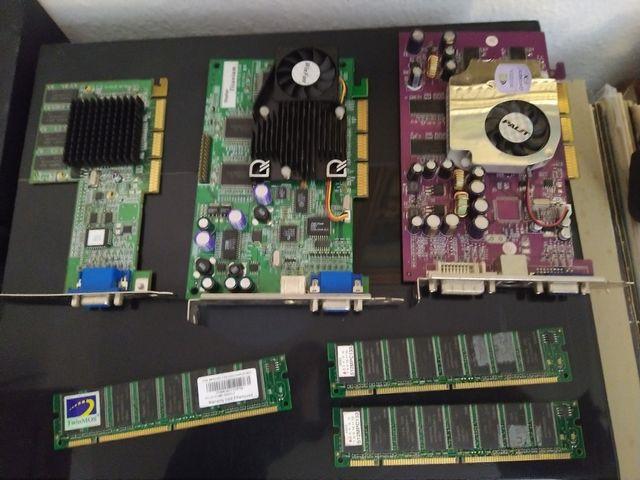 lote de componentes ordenador