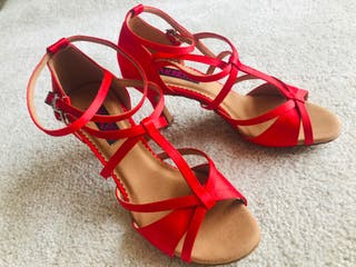 Zapatos baile latino ( salsa, bachata...)