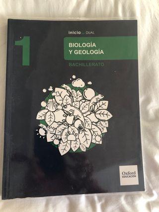 Libro Biología y Geología 1 Bachillerato