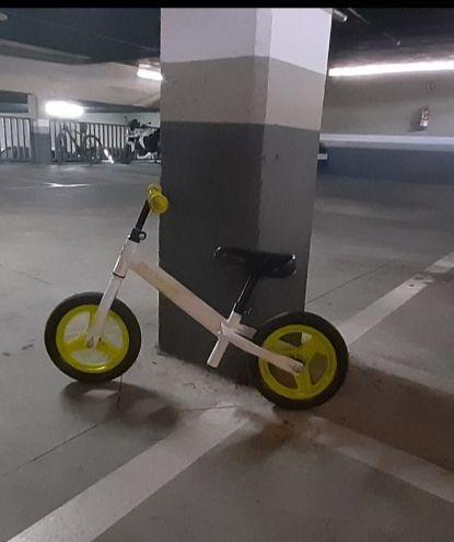 Bici sin pedales.