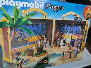 PLAYMOBIL PIRATES 70150 MALETÍN ISLA PIRATA