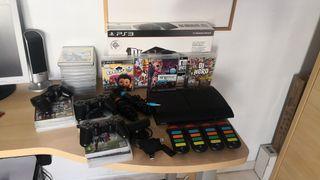 PlayStation 3 Ultra Slim 500GB y Accesorios