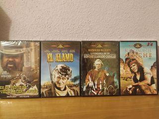 Películas del Oeste. Wester. DVD.