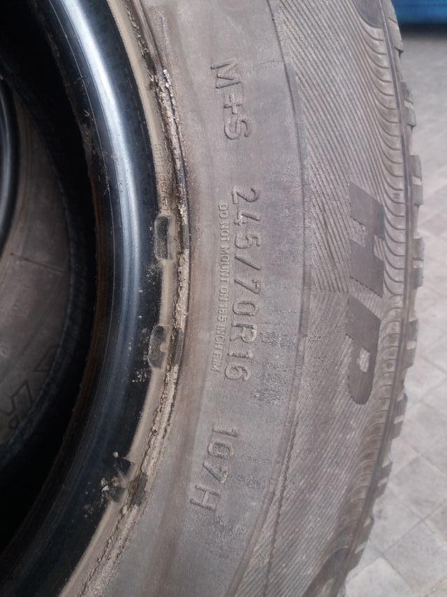 245/70 R16 Goodyear Wrangler