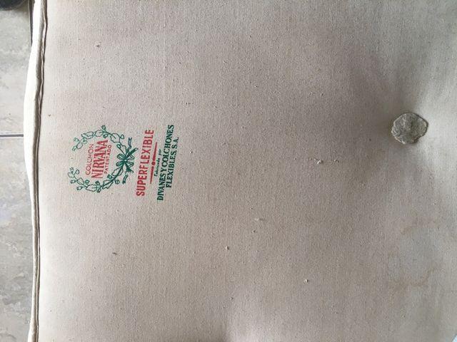 Colchón firme marca Nirvana 180x80