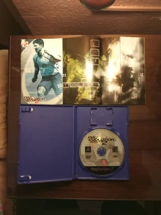 PS2 Pro Evolution Soccer 2, propaganda konami rara