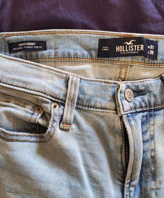 Pantalón vaquero hombre Hollister 31x30