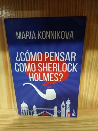 Libro Como pensar cómo Sherlock Holmes