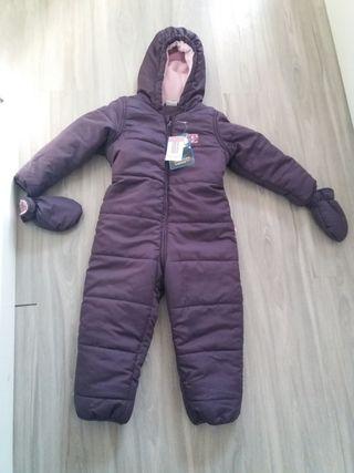 Mono de invierno para bebe