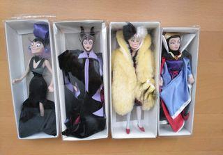 Figuras de porcelana Villanas Disney.