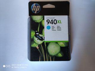 hp cartucho de tinta cian 940XL officejet 940
