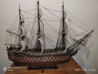 Barco maqueta velero Víctory 1805