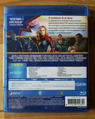 Capitana Marvel Bluray