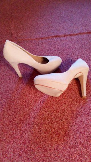 Zapatos Peep toes beige MarieMare 35