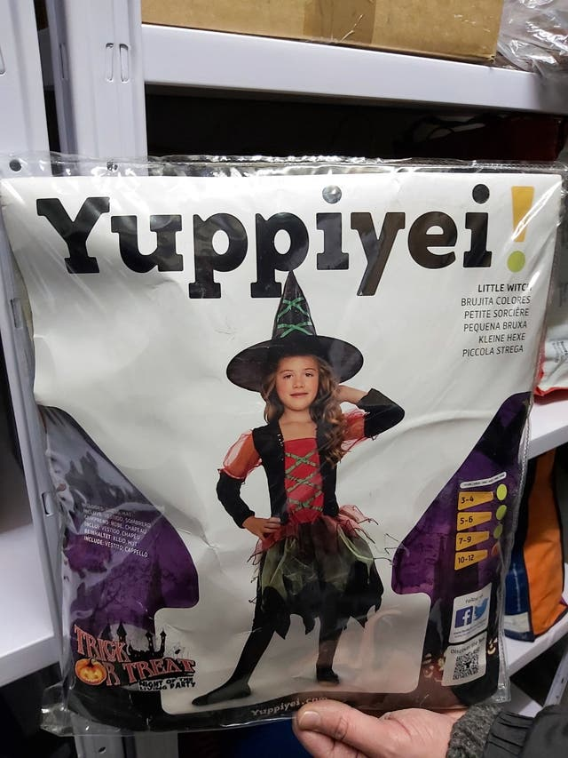 Disfraz infantil bruja