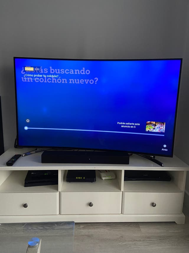 "TV Samsung 4K Curva 55"""