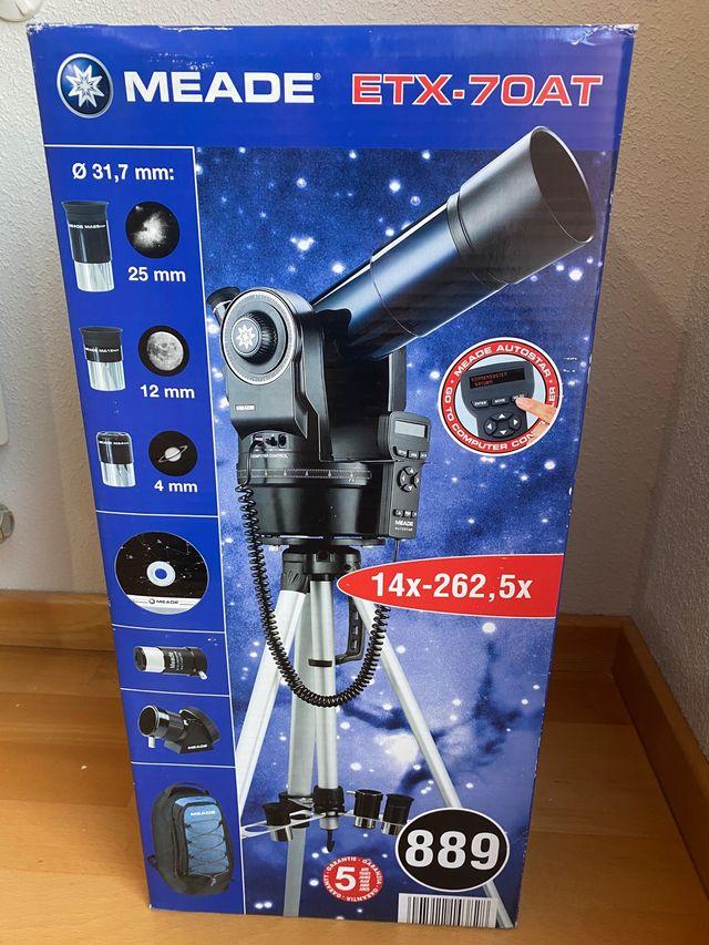 Telescopio asistido por ordenador nuevo
