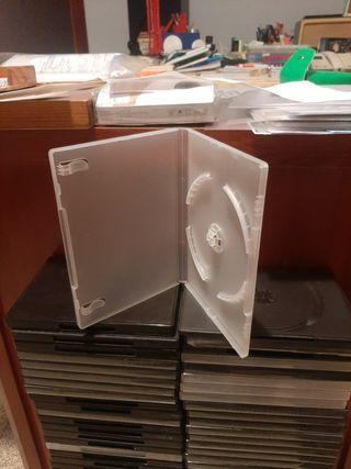 Son 86 estuches de DVD