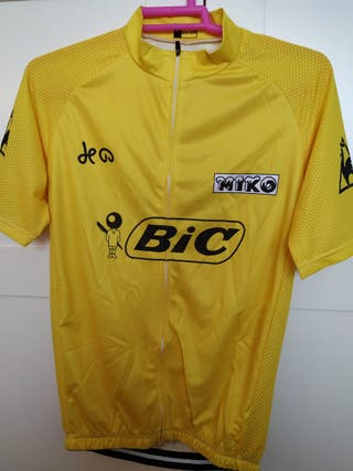 Maillot amarillo ciclismo Tour 1973 Luis Ocaña