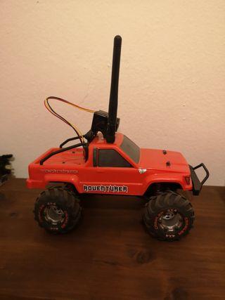coche crawler rc con fpv