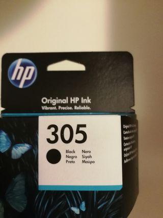 Cartucho impresora 305 black HP