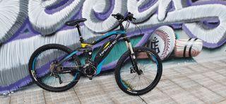 bicicleta eléctrica haibike all mountain