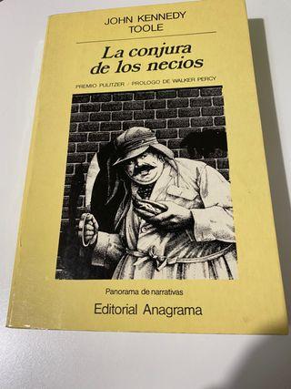 La conjura de los necios . Edición de 1990