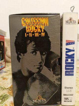 películas vhs colección Rocky