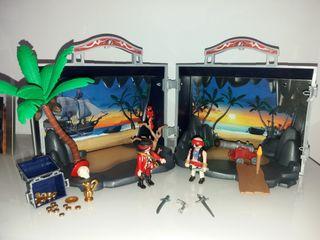 Cofre maletín isla pirata