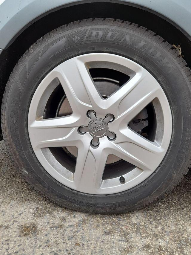 llantas y neumáticos 255/55 R18 audi A6 allroad