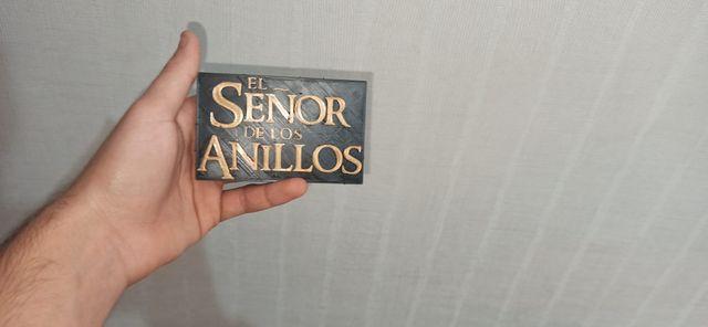 Letrero del Señor De Los Anillos