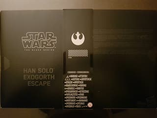 Han Solo Escape Exogorth Exclusive.Black series.