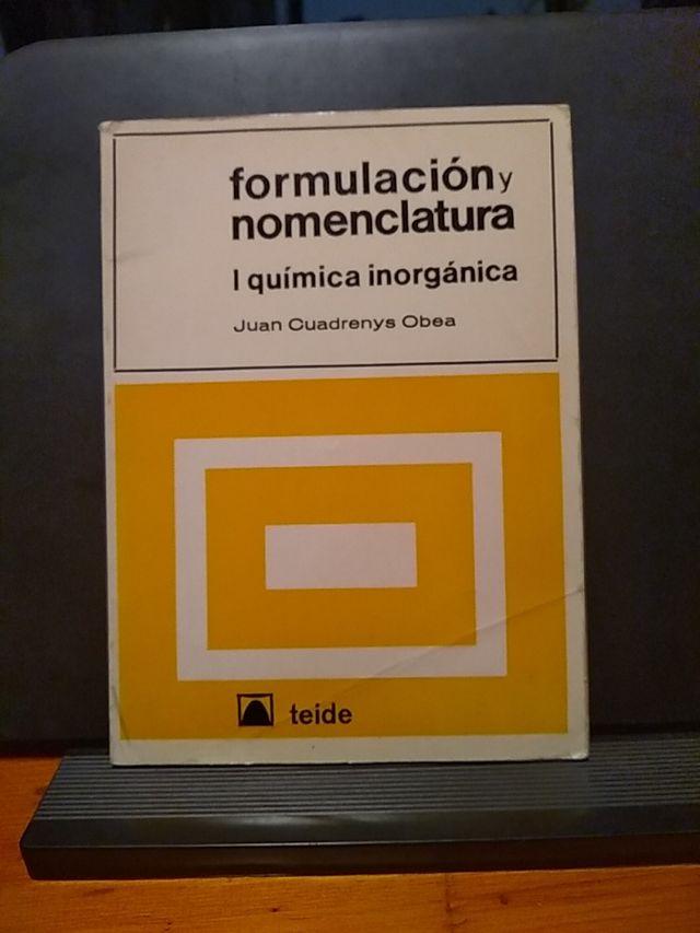 Formulación y nomenclatura i química orgánica