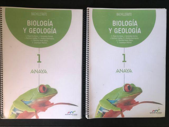 Libro Biologia y Geologia 1º Bachillerato
