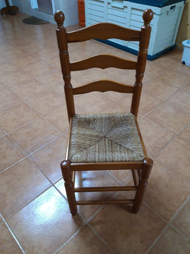 3 sillas de cocina
