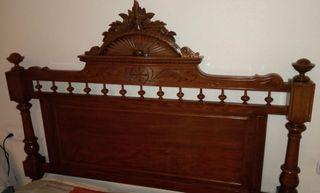 dormitorio antiguo buen estado y restaurado
