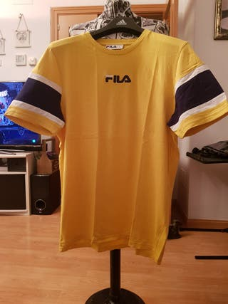 Camiseta amarilla Fila Talla XL